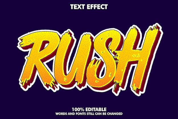 Cool carroon text effect