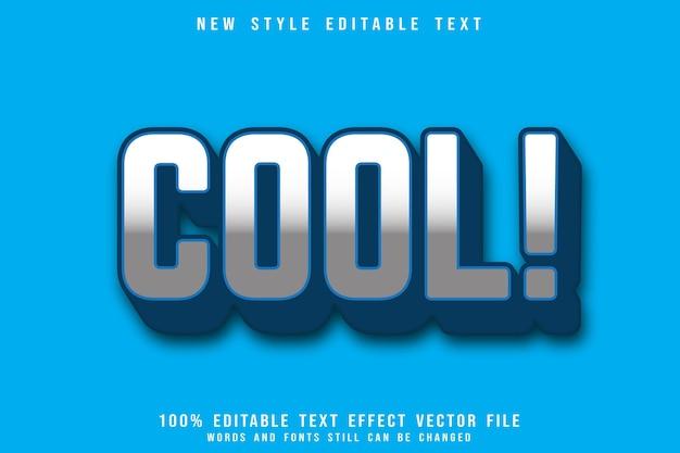 Классный редактируемый текстовый эффект с тиснением в современном стиле