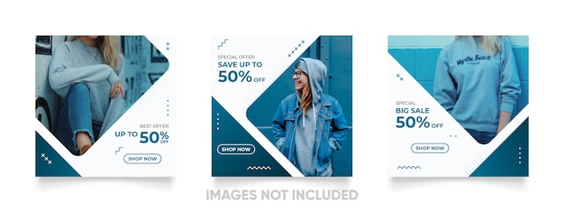 Cool instagram post template for product sale promotion