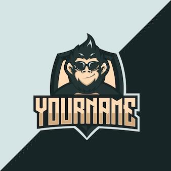 Логотип cool monkey