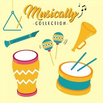Коллекция крутых музыкальных украшений