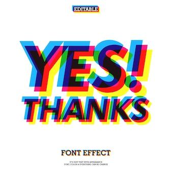 Текстовый эффект с надписью «опечатка» с эффектами «cool print»