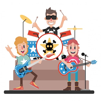 Cool rock band