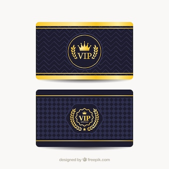 Cool set of vip cards