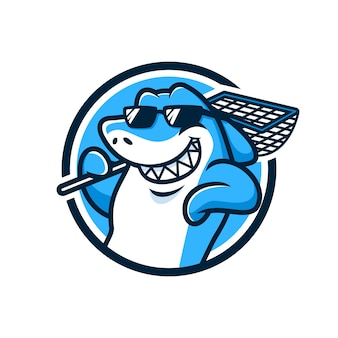 Прохладный акула
