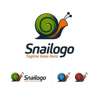 Cool snail logo