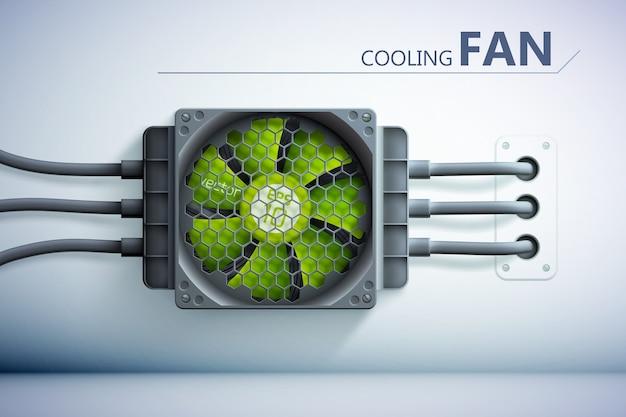 Фон технологии охлаждения