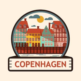 Copenhagen city badge