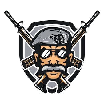 Cops vector mascot icon illustration