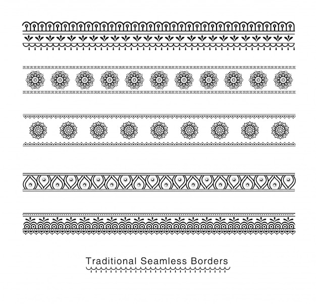 Coptic ornament frame border vector corners.