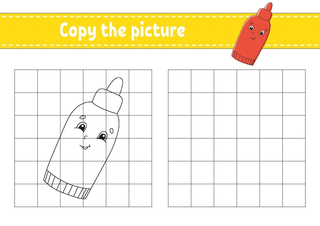 Copy the picture coloring book pages for kids