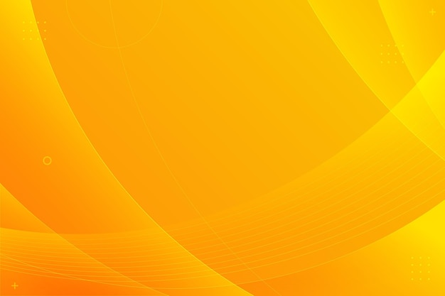 Copy space gradient orange background