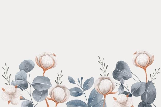 공간 봄 배경 및 꽃 복사
