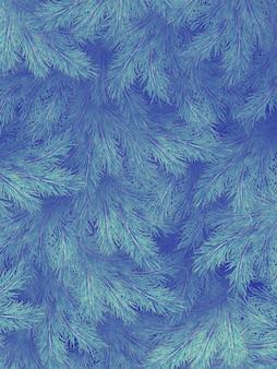 Голубые зеленые ветви ели, ели или сосны с copyspace.