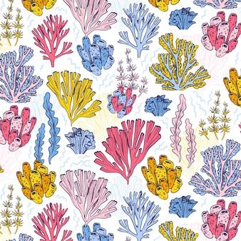산호 패턴 개념