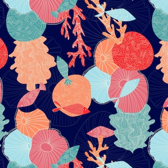 Coral pattern concept