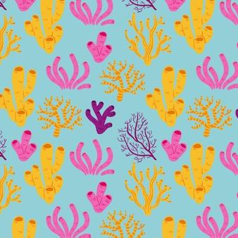 Coral pattern theme