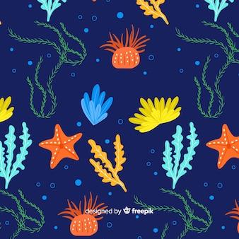 산호 패턴