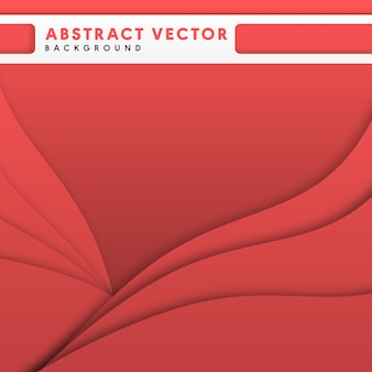 Coral red abstract multipurpose vector background