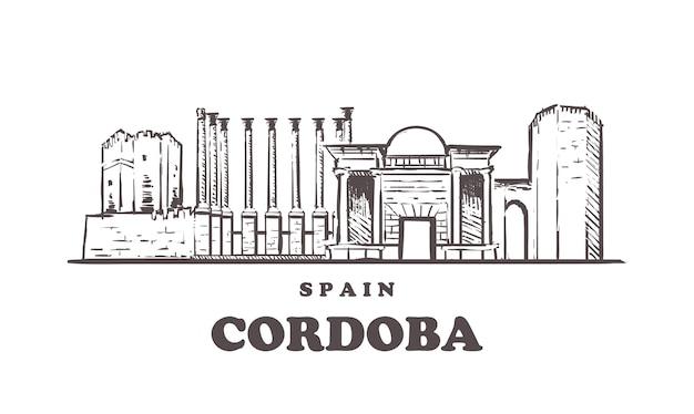Cordoba cityscape, spain