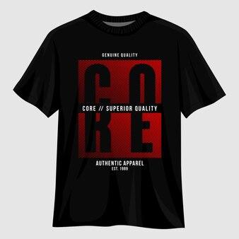 Основной дизайн футболки