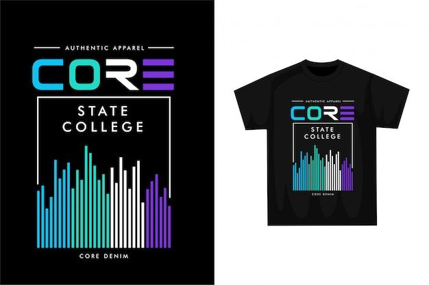 Core - графическая футболка