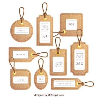 Cork labels