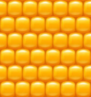 トウモロコシの背景パターン
