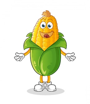Corn cartoon character