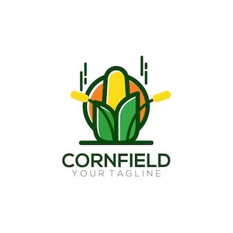 Corn field logo