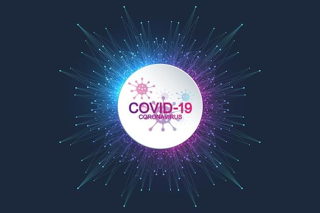 Шаблон баннера coronavirus 2019-ncov.