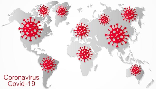 Коронавирус по всему миру, распространение нового вируса, covid-2019, опасный вирус, пандемия