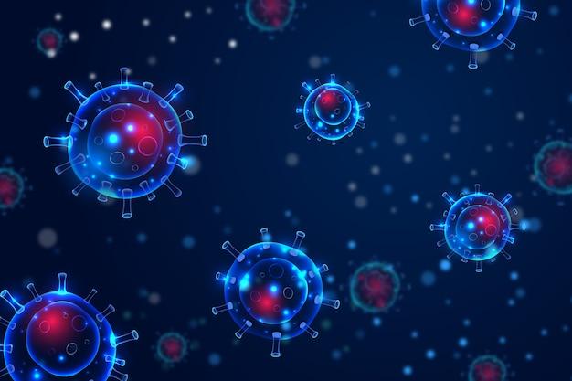 Coronavirus bacteria design