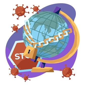 Концепция закрытия границы коронавирусом