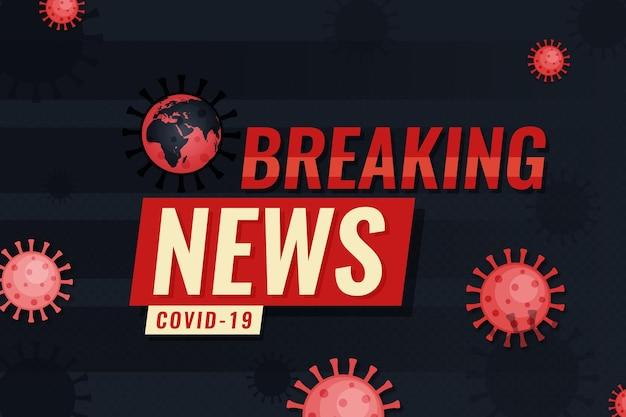 コロナウイルス速報ニュースの背景