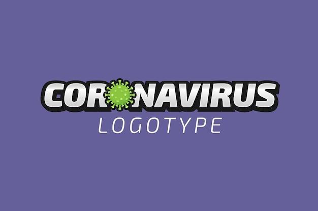 Логотип компании коронавирус