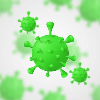 Coronavirus covid-19 3d model