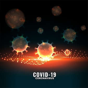 Il coronavirus covid-19 viene fermato con un muro di resistenza