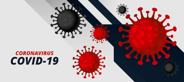 Coronavirus covid-19 pandemic outbreak virus background concept