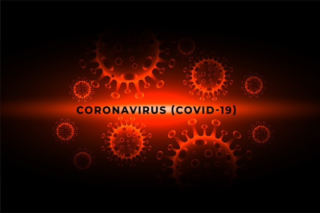 Coronavirus covid-19 pandemic virus infection outbreak background