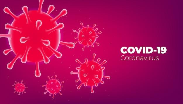 Coronavirus disease covid-19 infection medical. covid virus cells background.