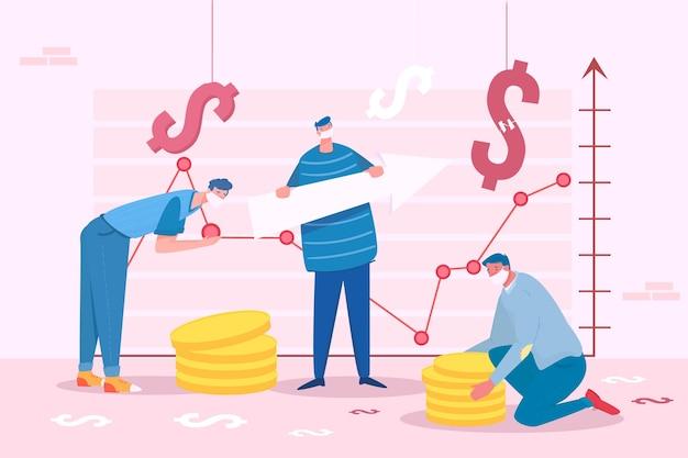 コロナウイルスの財政回復の概念