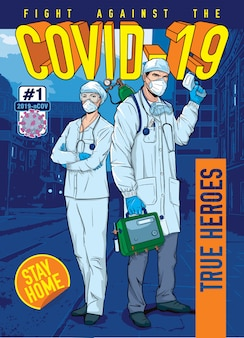 コロナウイルスhq-真の英雄