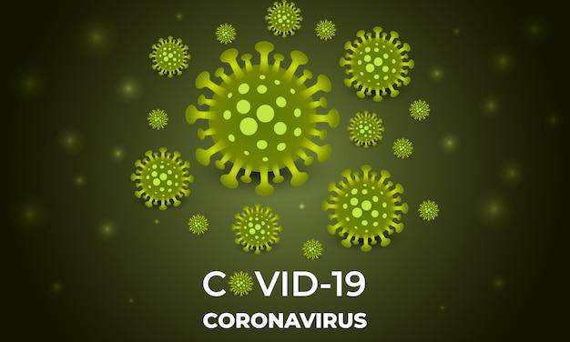 コロナウイルス感染症covid-19。コロナウイルスのラクダの背景。
