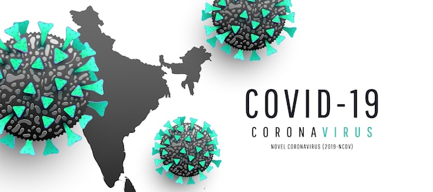 Coronavirus maps, coronavirus spread on white background. , world india map coronavirus or covid-19