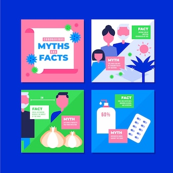 Coronavirus myths list for instagram