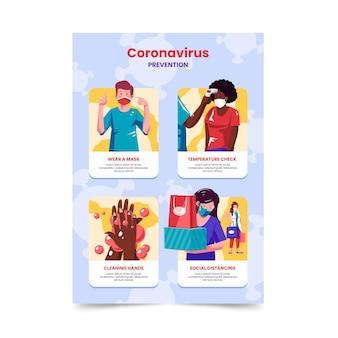 店舗向けコロナウイルス予防ポスター