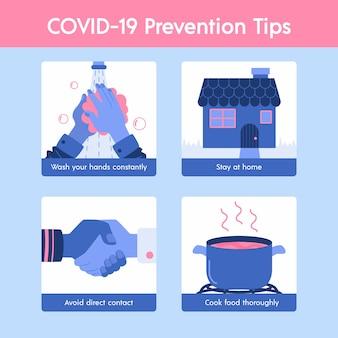 コロナウイルス予防のヒント