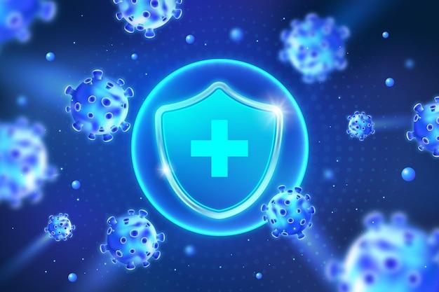 コロナウイルス保護シールドの背景