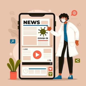 Концепция обновления коронавируса